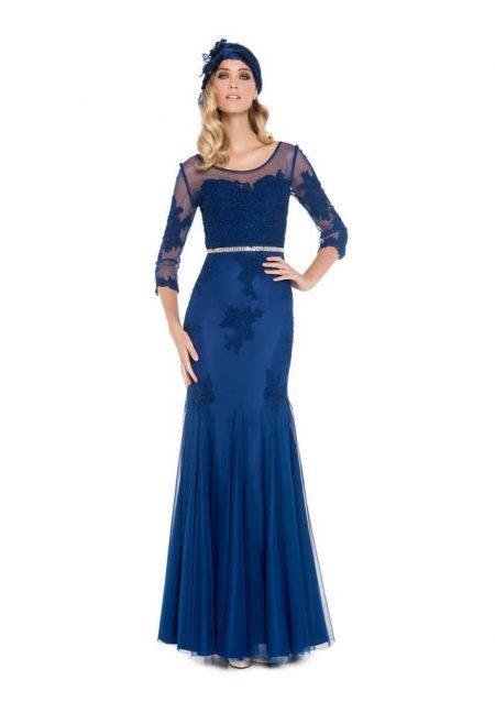 Vestidos de madrina azul