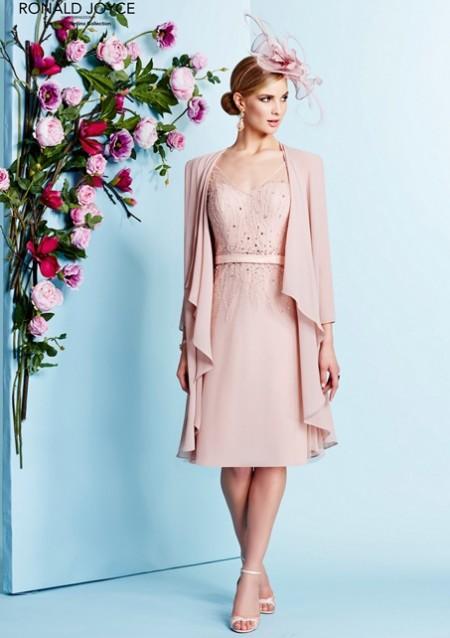 Vestidos de madrina rosa