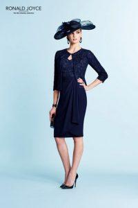 Vestidos de madrina azul oscuro