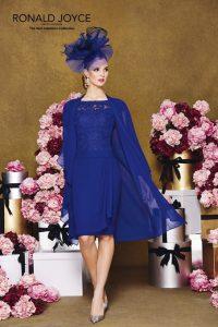 Vestido de madrina en azul