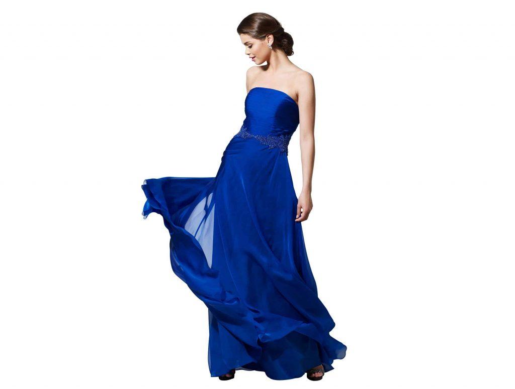 Marian Novias, Vestidos de Fiesta en Azul