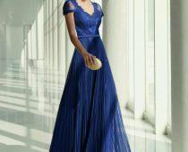 Vestidos de madrina azul marfil