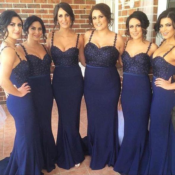 vestidos de damas de honor iguales