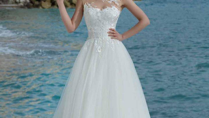 Vestidos de novia elegantes.