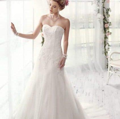 Vestido novia estilo princesa.
