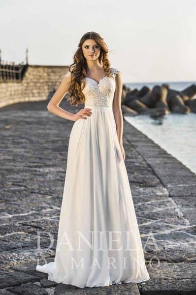 Elegante diseño italiano en novia y madrina.