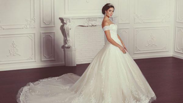 vestidos de novia de princesa. marian novias, tienda de novias