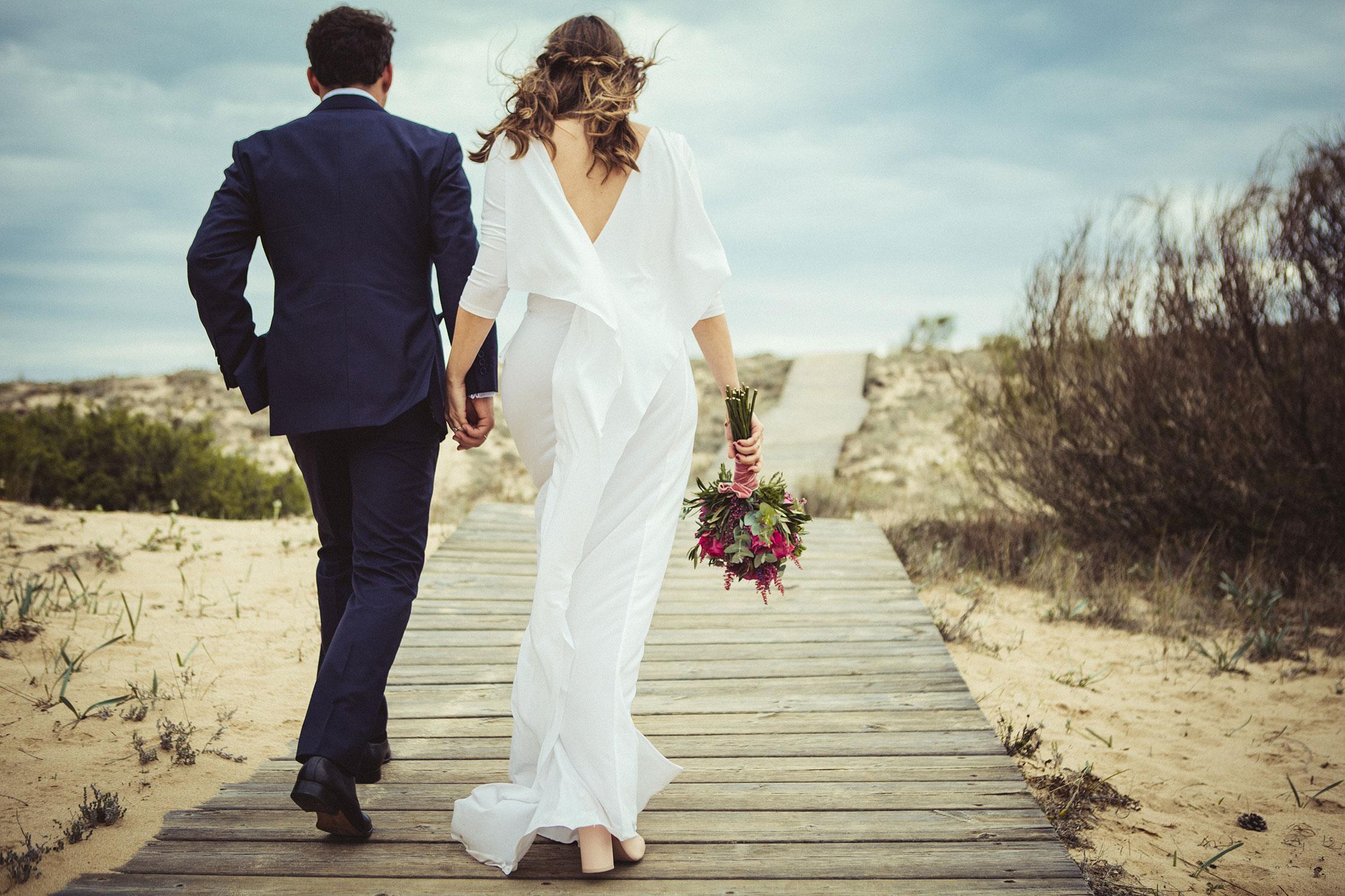 Comprar vestido de novia por internet.