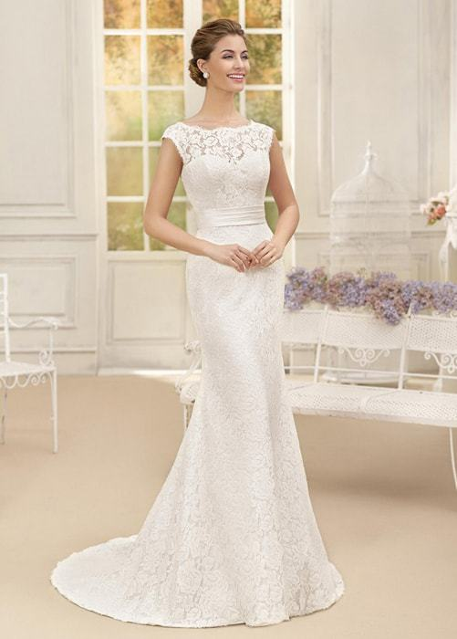 vestidos de novia sencillo