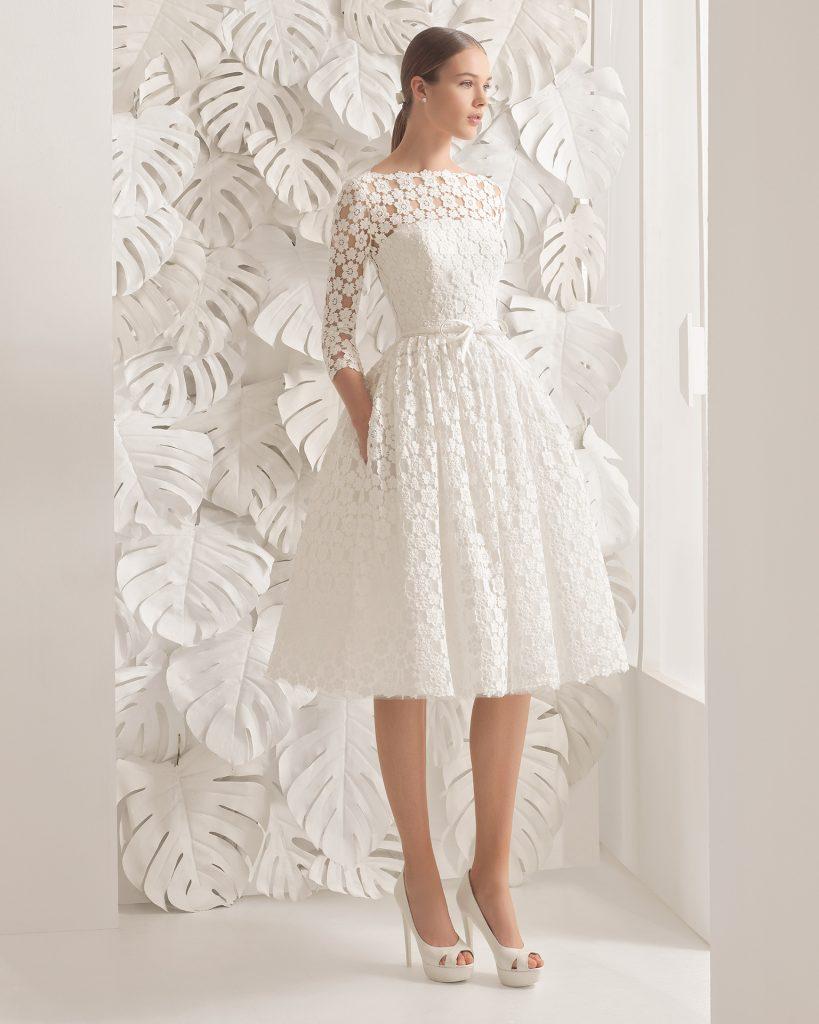 vestidos de novias corto