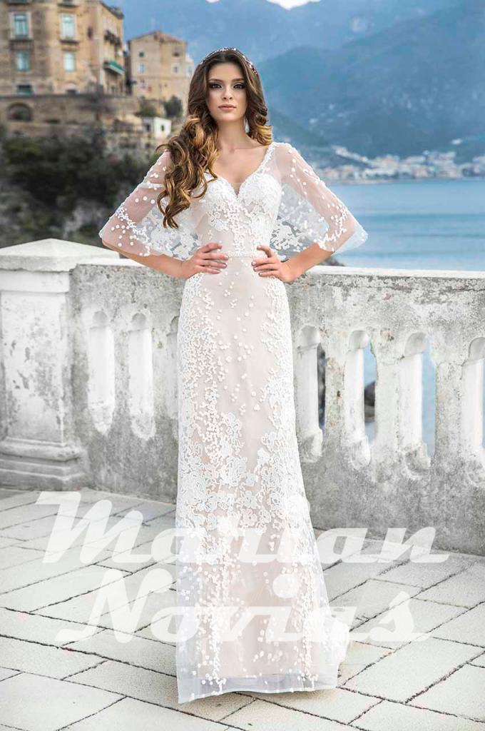 vestido de novia italiano
