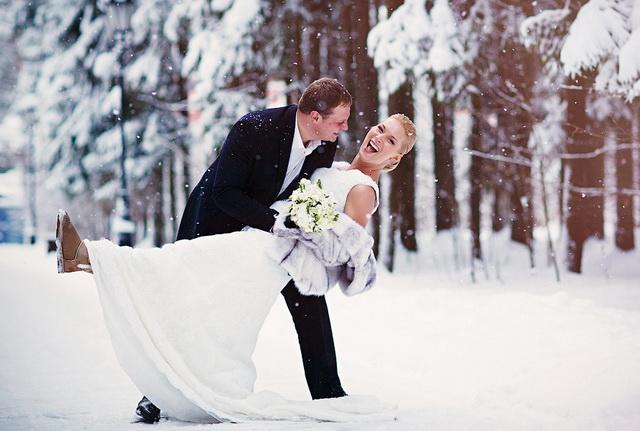 Viaje de bodas a la nieve.