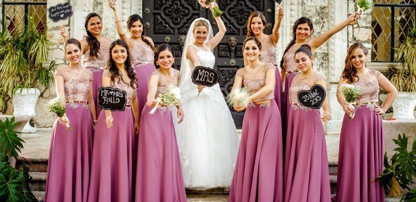El Vestido De Las Damas Honor Entra Te Contamos Algunas