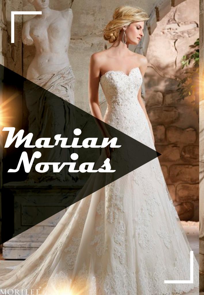 vestidos de novia, marian novias