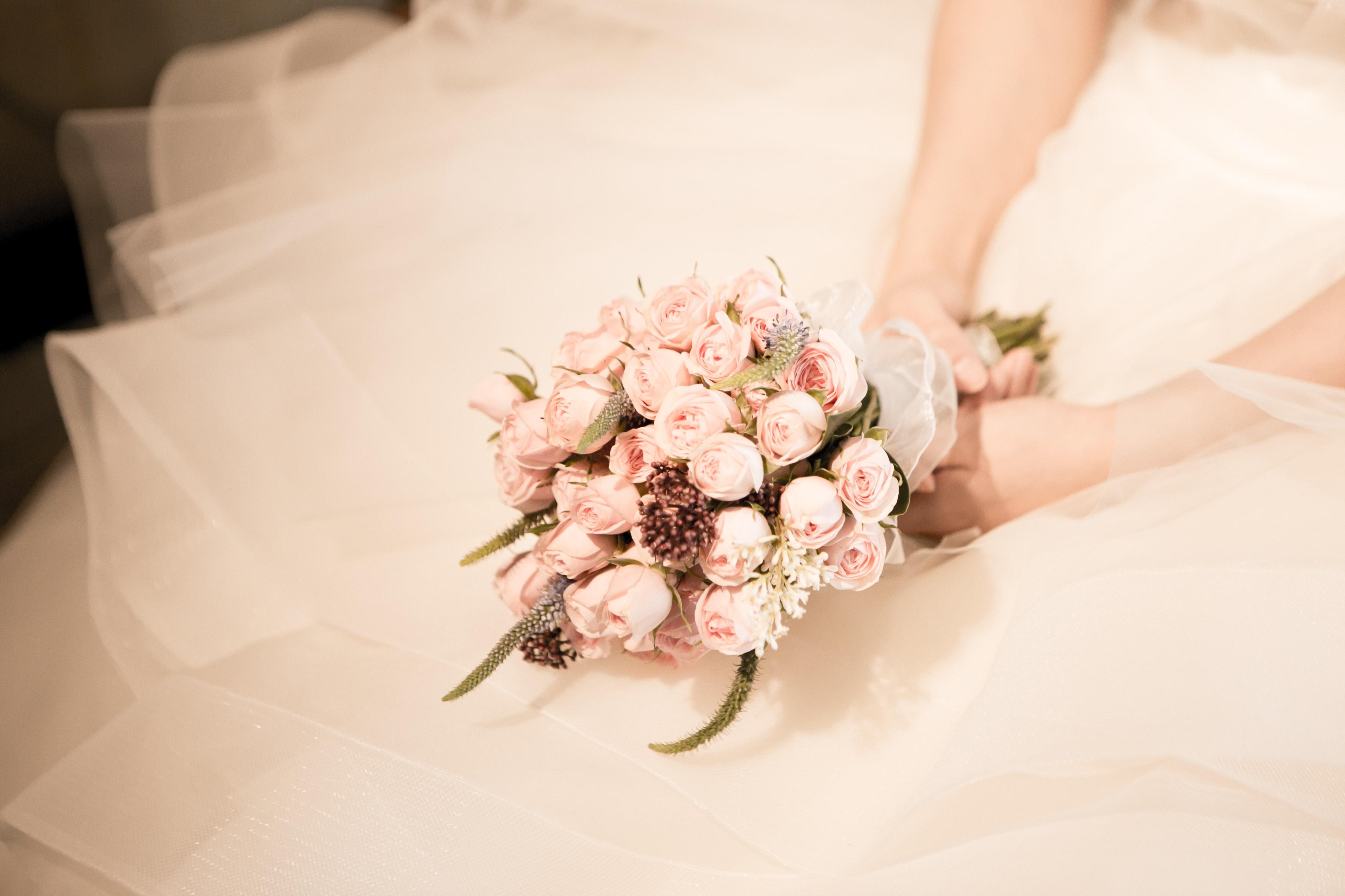 Aquel vestido de novia elegante y exclusivo.