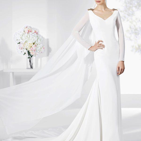 vestido de novia elegante 2019