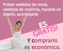 Gratis o económico en vestidos boda.