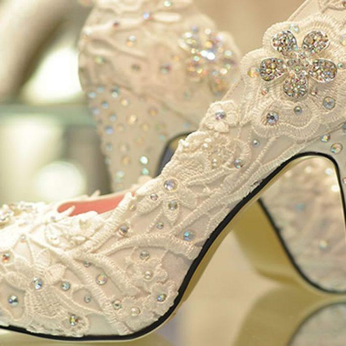 calzados y zapatos para novias