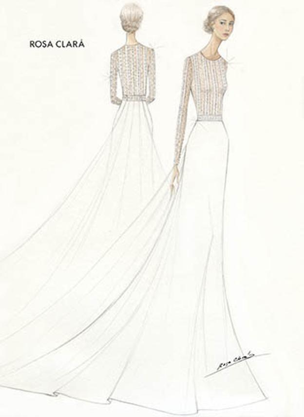 El vestido de novia de Xisca Perelló.