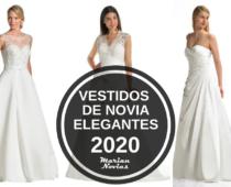 Vestidos de novia 2020 elegantes